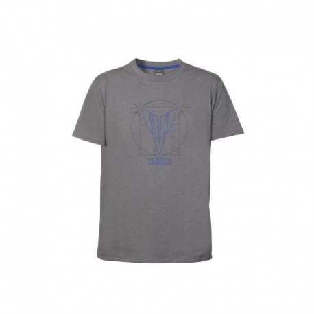 T-shirt Yamaha Hypernaked Gris Homme Manches courtes