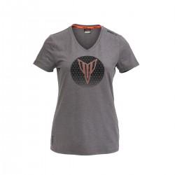 T-shirt Yamaha MT 2021 Gris pour femme