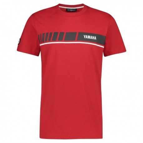 T-shirt Yamaha REVS 2019 Rouge Homme