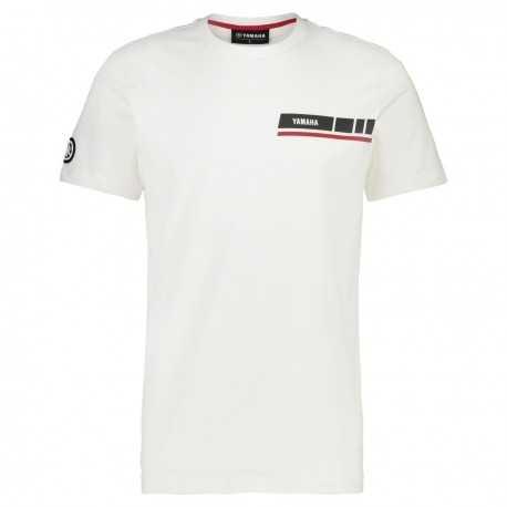 T-shirt Yamaha REVS 2019 Blanc Homme