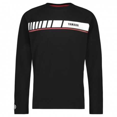 T-shirt Yamaha REVS 2019 Noir Manches Longues