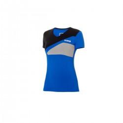 T-shirt Yamaha Bleu pour Femme