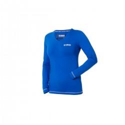 T-shirt YAMAHA Bleu Femme Manches longues