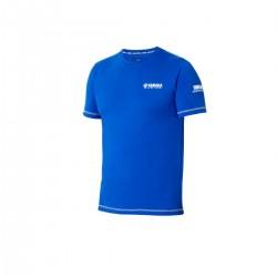 T-shirt Yamaha Racing Bleu Homme