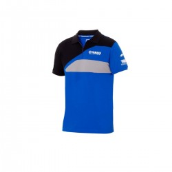 Polo Yamaha Bleu Noir Homme