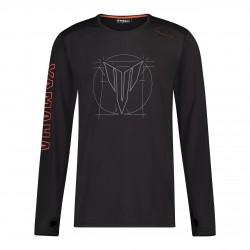 T-shirt Yamaha Hypernaked noir Homme