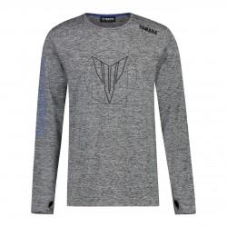 T-shirt Yamaha Hypernaked Gris Homme